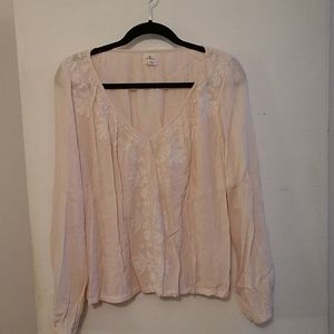 O'Neill  long sleeve blouse